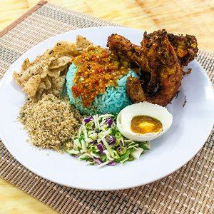 Nasi Kerabu Ayam_02