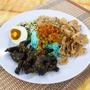 Nasi Kerabu Daging_02